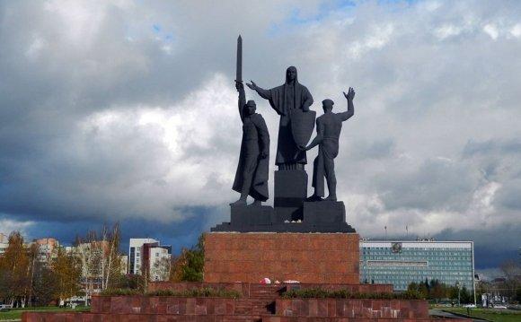 Пермский памятник героям