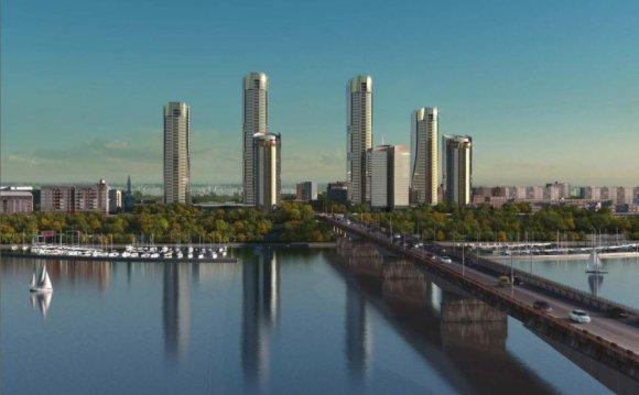 Панорама Перми фотография